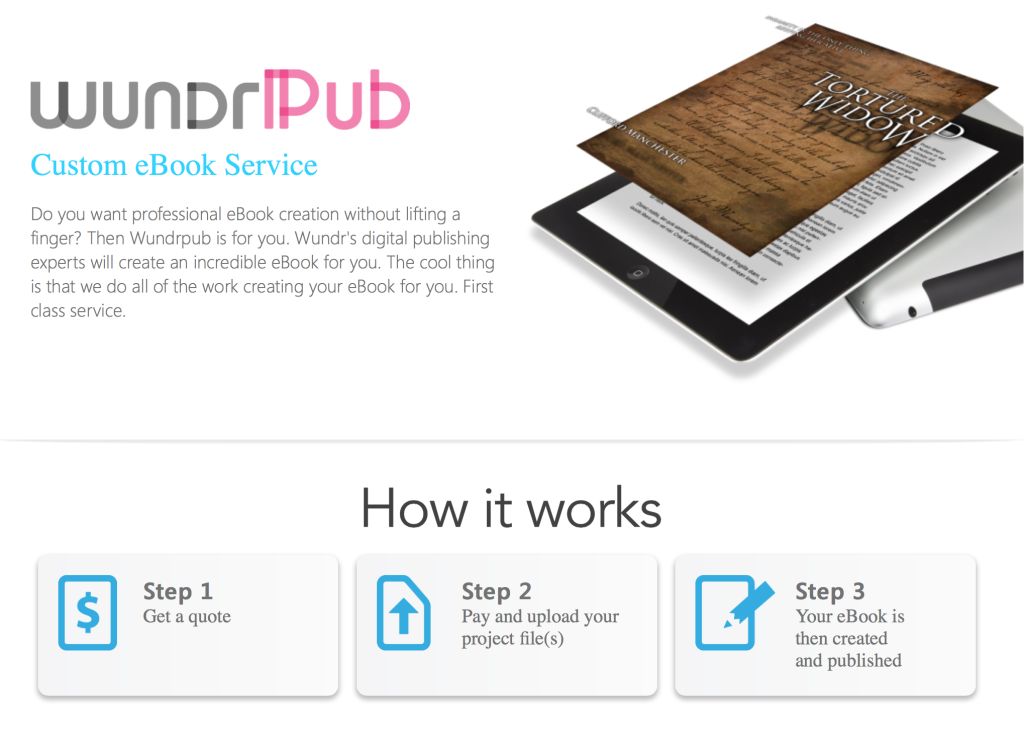 Custom eBook Service WundrPub